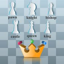 Crown chess illustartion vector eps file | free graphics | UIHere