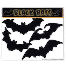 Magnet Variety Pack 4 Magnets Large Black Bats Halloween Refrigerators Cars Mailboxes Decoration 3 5 To 5 Wide Each Bat Walmart Com Walmart Com