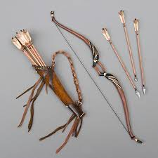 bow arrows tutorial antique lilac
