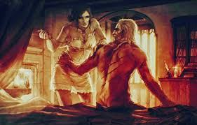 photo wallpaper art love the witcher