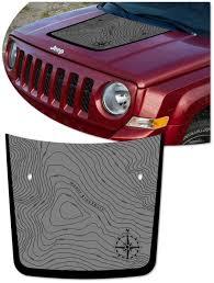Jeep Patriot Hood Graphic Kit 2 Blackburn Edition Sport Se Latitude High Altitude