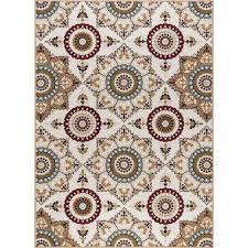 nylon 9 x 12 bohemian area rugs