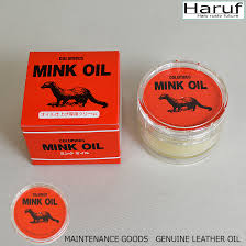 haruf leather mink oil for the