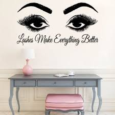 Wall Sticker For Salon Improve Your House And Yourself