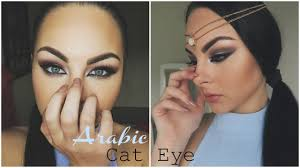 arabic cat eye makeup saubhaya makeup