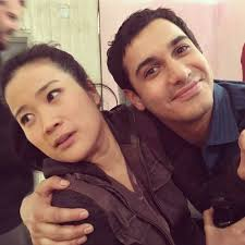 Scorpion Co Stars: Jadyn Wong and Elyes Gabel on the set of ...