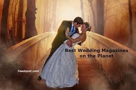 top 15 wedding magazines publications
