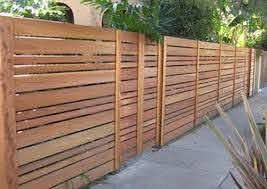 Pin By Rachel Osborne On Exterior Wood Fence Design Modern Wood Fence Privacy Fence Designs