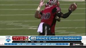 2016 NFL Draft Rd 7 Pk 249 | San Francisco 49ers Select CB Prince Charles  Iworah - YouTube