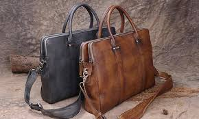 top 10 men business leather bag in 2020
