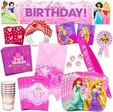 Amazon Com Disney Princess Party Supplies Mega Set Party Favors