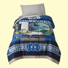 disney monsters inc twin 4pc bedding