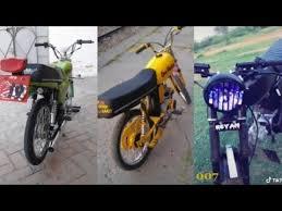 2019 new cd70 modified bikes