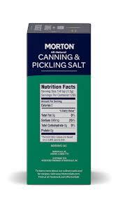 2 pack morton canning pickling salt
