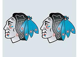 Blackhawks With Chicago Flag Vinyl Stick Buy Online In Bahrain At Desertcart