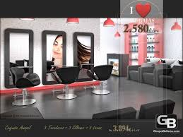 hair salon furniture set amapol
