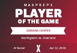 Adriana Cooper's (Northglenn, CO) Awards | MaxPreps
