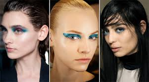 could you pull off blue makeup