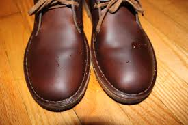 clarks desert boots with sno seal