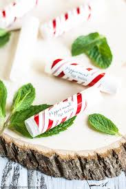 homemade peppermint lip balm a