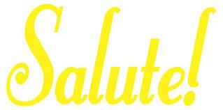 Salute Italian Word Decals Stickers Kitchen Decals Whimsi Decals Whimsidecals