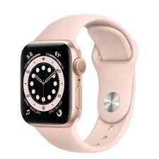 Apple Watch Series 6 GPS, 40mm Gold ...