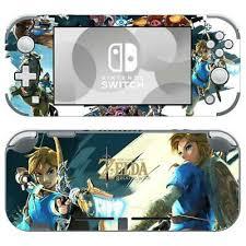 Nintendo Switch Lite Vinyl Skin Sticker Cover Legend Of Zelda Breath Of The Wild Ebay