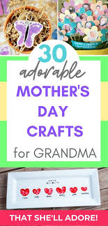 30 mother s day crafts for grandma a