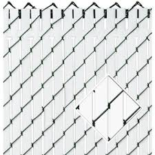 Pexco Brown Chain Link Fence Privacy Screen In The Chain Link Fence Slats Department At Lowes Com