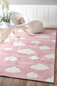Serendipity Cloud Pink Rug Pink And Blue Rug Kids Area Rugs Pink Rug