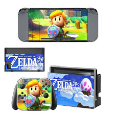 The Legend Of Zelda Link S Awakening Skin Sticker Vinyl For Nintendo Switch Sticker Skin Ns Console And Joy Con Controllers Stickers Aliexpress