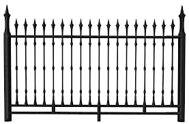 Transparent Black Iron Fence Png Clipart Gallery Yopriceville High Quality Images And Transparent Png Free Clipart