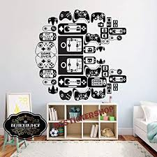 Xbox One Controller Gamepad Children S Bedroom Decal Wall Art Sticker Picture Dom I Meble Dekoracje A2btravel Ge