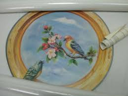 Home Sensations 8101 Trompe L Oeil Wall Decor 18 Round Mural Birds Round New For Sale Online