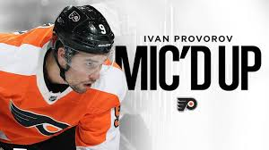 Flyers Mic'd Up: Ivan Provorov - YouTube