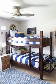 Bedding For Bunk Beds Shades Of Blue Interiors