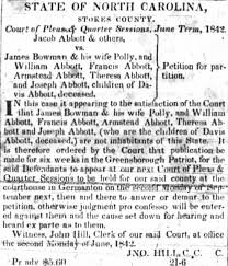 James and wife Polly Bowman 1842 - Newspapers.com