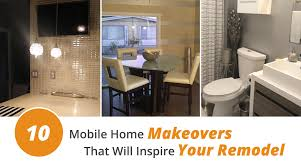 10 mobile home makeovers that will