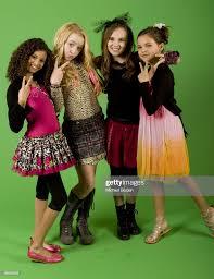 Actresses Olivia Grace, Kathryn Newton, Adair Tishler and Bailee ...