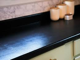 how to paint laminate countertops to