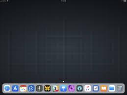 my 12 9 ipad pro homescreen