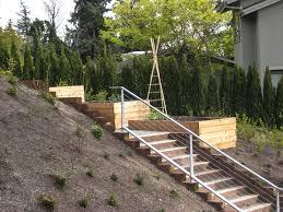 terraced bellevue vegetable garden