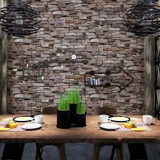 1pcs 3d Pvc Brick Pattern Wall Sticker Peel And Stick Wallpaper 10m 53cm For For Sale Online