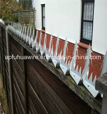 China Security Wall Spike On Top Fencing Razor Spikes Fence China Wall Spike Anti Climb Barbed Nail