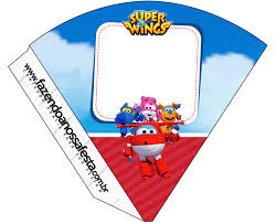 Super Wings Imprimibles Gratis Para Fiestas Ideas Y Material