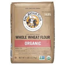 organic whole wheat flour 5 lbs flours