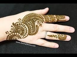 Cute Mehndi Design Easy And Beautiful Images