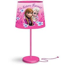 Disney Frozen Anna And Elsa Kids Room Table Stick Lamp Walmart Com Walmart Com