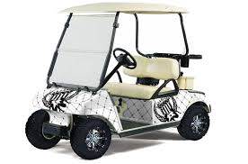 Club Car Precedent Golf Cart Graphics Silver Star Reloaded White Golf Cart Graphic Decal Kit Golf Cart Graphic Kits Graphic Kits