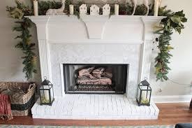 herringbone marble tile to a fireplace